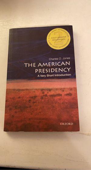 The American Presidency by Charles O. Jones for Sale in Long Beach, CA