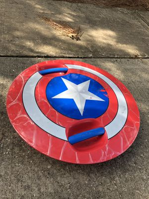 Captain America skate shield for Sale in Tomball, TX