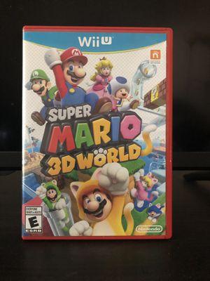 Super Mario 3D World Nintendo Wii U for Sale in Scottsdale, AZ