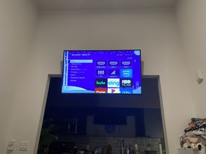 55 inch Sharp Roku TV - 4 months old for Sale in Seattle, WA