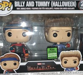 WandaVision Billy And Tommy Funko Pop 2021 Spring Convention for Sale in Queens,  NY