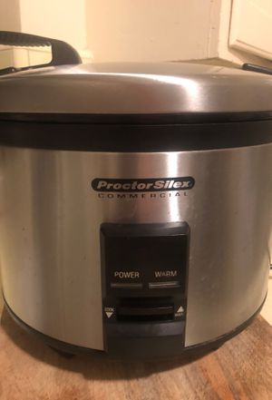 Commercial Rice Cooker (proctor Silex) 40 cups for Sale in Long Beach, CA