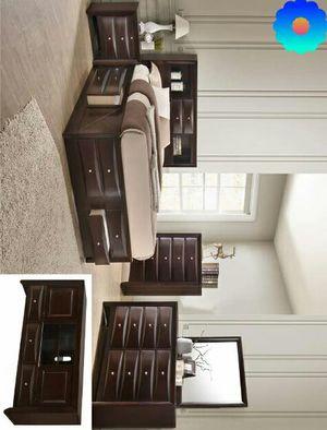 Baumg Dark Cherry Storage Platform Bedroom Set |Recamara for Sale in Kempner, TX