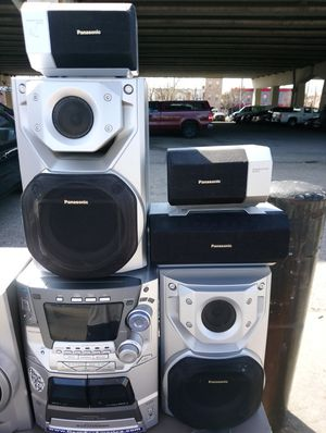 Panasonic 5.1 Surround Sound Stereo Home Theater Speaker System for Sale in Philadelphia, PA