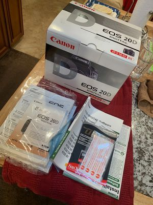 Canon 20D Camera with Lenses for Sale in Whittier, CA