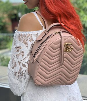 GUCCI MARMONT BACKPACK PINK for Sale in Baldwin Park, CA