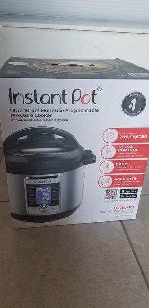 Instant pot ultra duo 8qt for Sale in Tucson, AZ