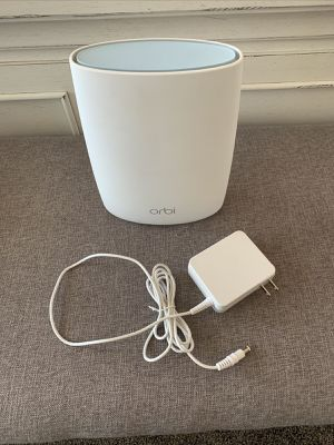 Netgear Orbi RBR50 Router Base Unit AC3000 1733 Mbps 3 Port - New for Sale in Aldie, VA