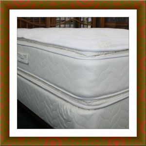 Twin mattress double pillowtop with box spring free shipping for Sale in Alexandria, VA