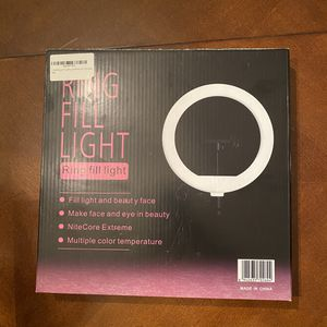 LED Selfie Ring Light 10.2 inches w/ Tripod and Remote for Sale in McDonough, GA
