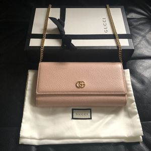 Gucci wallet on chain 100% Authentic for Sale in San Diego, CA