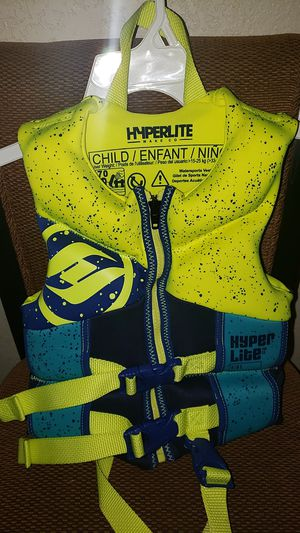 Hyperlite Child/Infant Life Vest for Sale in Rancho Cucamonga, CA