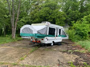 1984 homemade trailer with a viking shell for Sale in Vienna, MO