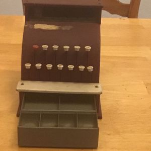 Vintage Metal Tom Thumb Cash Register for Sale in Corning, CA