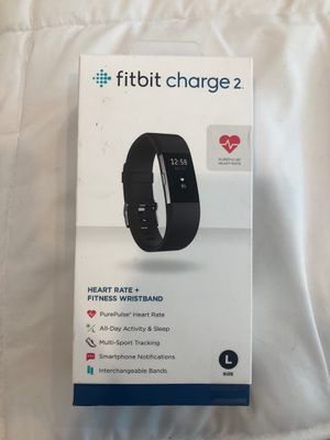 FITBIT Charge 2- was $189- Brand new/Sealed- Size L for Sale in Irvine, CA