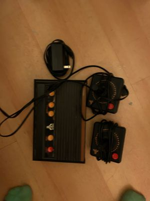 Vintage looking Atari game console, complete with over 100 built in games! for Sale in Worcester, MA