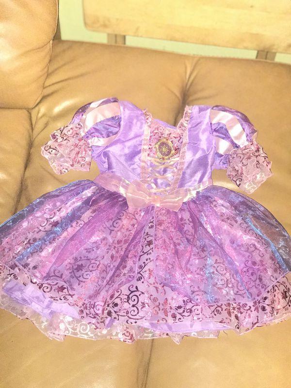 Disney Store Rapunzel dress (18-24 mos)