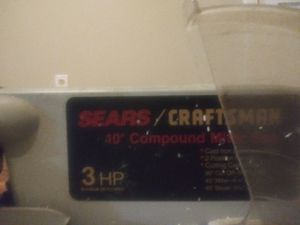 Sears Craftsman Table Saw for Sale in Biloxi, MS