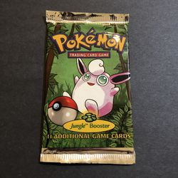 Sealed 1999 HEAVY WOTC Jungle Booster Pack (22g) for Sale in Hollywood,  FL