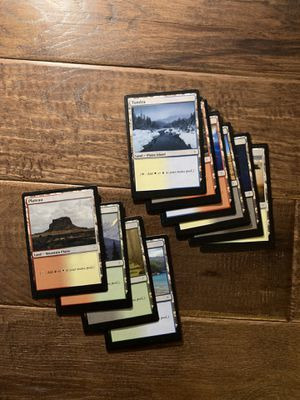 TWO *CUTOM* MTG Dual Land *Sticker* Proxies ***PROXY*** ***MINT*** for Sale in Washington, PA