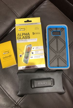 Otter Box Defender Phone Case for Samsung Galaxy S8+ for Sale in Scottsdale, AZ