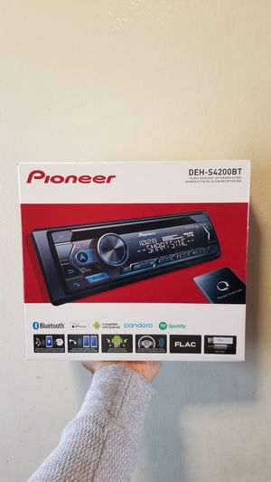STEREO PIONEER DE BLUETOOTH, USB, MIXTRAX, CD,MP3 NUEVO POR $90 for Sale in San Bernardino, CA