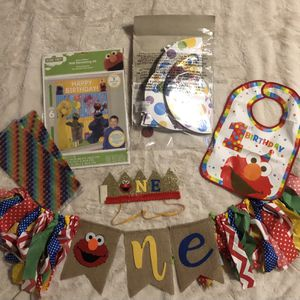 Baby First Birthday- Elmo for Sale in Grand Prairie, TX