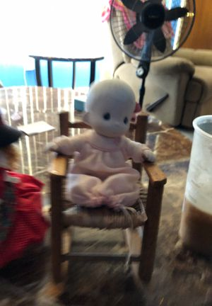 Precious Moments Doll w Chair for Sale in Parkville, MD