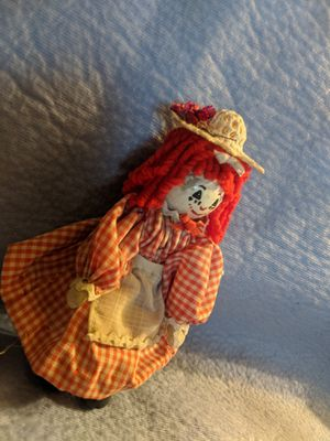 Vintage Raggedy Anne Clothes Pin Doll for Sale in San Diego, CA