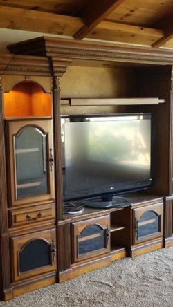 Very Nice Entertainment Center for Sale in Clovis,  CA