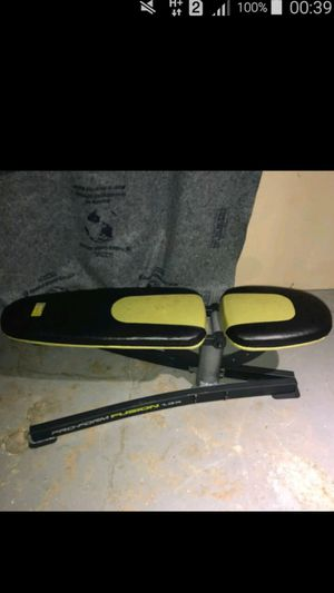ProForm Fusion 1.3x Adjustable Weight Bench for Sale in Alexandria, VA
