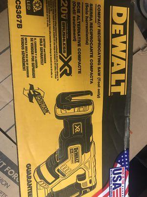 Dewalt reciprocating saw XR for Sale in Bolingbrook, IL