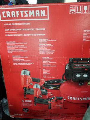 CRAFTSMAN - Compresor de aire portátil de 3 herramientas de 18 GA for Sale in Tacoma, WA