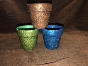 Adorable mini glitter pots for Sale in Mesa, AZ