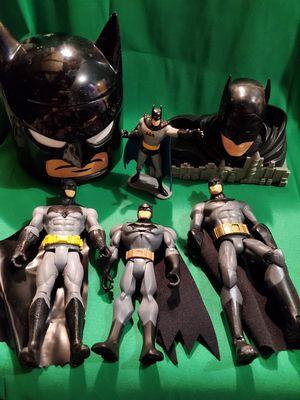 Batman collection, collectable lot, toys thermos and more! for Sale in Vancouver, WA