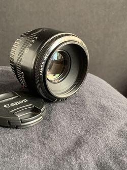 Canon Ef 50mm 1.8 Full for Sale in Phoenix,  AZ