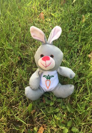 Gray Bunny Plushie for Sale in Hayward, CA