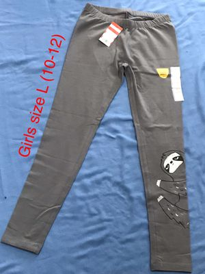 New Girls Leggings size L (10-12) (Nuevo). for Sale in Palmdale, CA