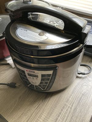 Power Pressure Cooker XL 8 Qt for Sale in Riverview, FL