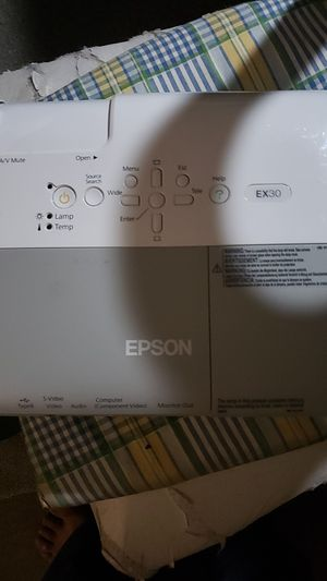 Epson proyector for Sale in Santa Rosa, CA