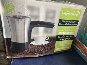 Brentwood electric Turkish Greek coffee maker for Sale in Garden Grove, CA