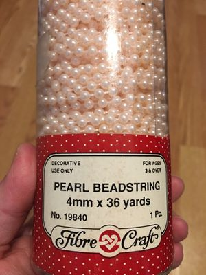 Decorative Pearl Beadstring - Perlas Decorativas Para Manualidades for Sale in Chicago, IL