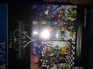 Kingdom Hearts HD 1.5 & 2.5 Remix for Sale in Fresno, CA