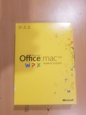 Microsoft office for mac for Sale in Austin, TX