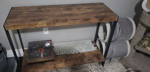 Metal and wood look side table, tv table, sofa table for Sale in Chandler, AZ