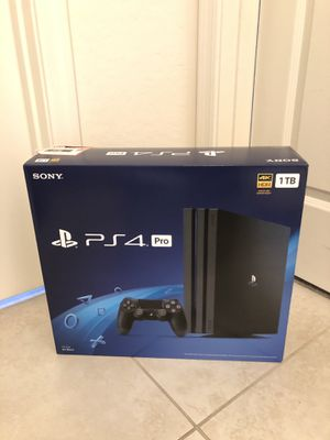 Brand New Playstation 4 PS4 Pro 1TB Factory Sealed for Sale in Phoenix, AZ