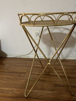 Rattan Plant Stand for Sale in Los Angeles,  CA