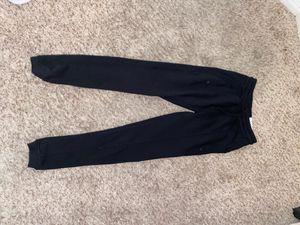 Black Reflex Sweatpants for Sale in Sun City, AZ