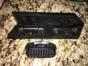 PlayStation fan/charging & keypad for Sale in Laveen Village, AZ
