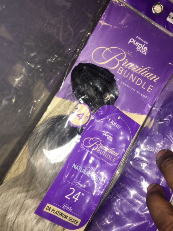 Original packaging and unopened hair hair stands and makeup remover is definitely for purchase...Come Shop